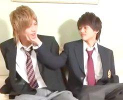【無修正 BL】リアルイケパラ♥ジャニ系高校生たちがイチャイチャBLラブエッチ♪