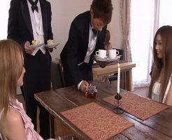 【無修正 ぽこっしー 女性向け】友達に連れられて訪れた執事喫茶のサービスでマッサージしてもらえることに♥