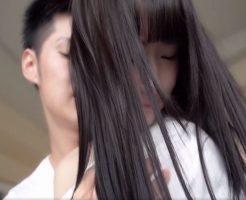【藍井優太 女性向け】黒髪ストレートの清楚系な彼女と二人きりの初々しいホテルデート♥
