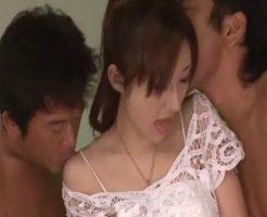 【無修正 阿川陽志 女性向け】綺麗なお姉さんを大の男が二人がかりで囲んで攻め立てる3Pセックス