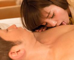 【大沢真司 女性向け】寝ている彼氏にキスをしてエッチな誘惑で目覚めさせちゃう