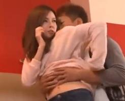 【黒田悠斗 女性向け】通話中に彼氏に迫られて声が漏れちゃうかもしれないドキドキのSEX