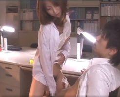 定時後のオフィスで二人きり。社内恋愛中の彼をデスクの上で激しく絡み合う内緒のプレイ 【小田切ジュン】