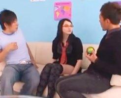 【しみけん 黒田悠斗】美人な外人さんと3Pしちゃうノリノリな2人のイケメン 女性向け無料アダルト動画