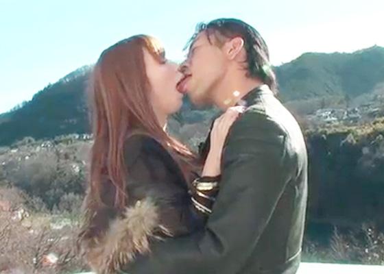 【無修正 阿川陽志 女性向け】穏やかな山の景色と爽やかな空気を味わいながら甘いキス♥