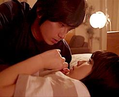【東惣介】前編♪初めて彼氏の家に泊まりに来た私。彼はすぐに寝ちゃったんだけど、中々寝付けなくって…彼に秘密でキスしたら!? 女性向け無料アダルト動画